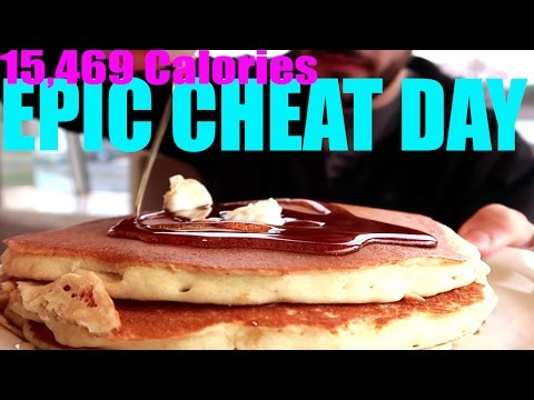 Epic Cheat Day | 15,000 CALORIES | Ep. 17
