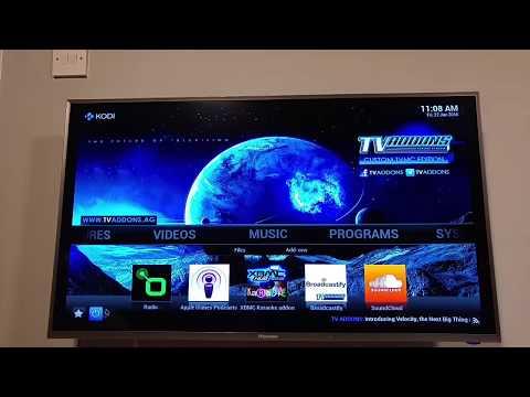 Hisense Android 4.4 4K Smart TV with Kodi