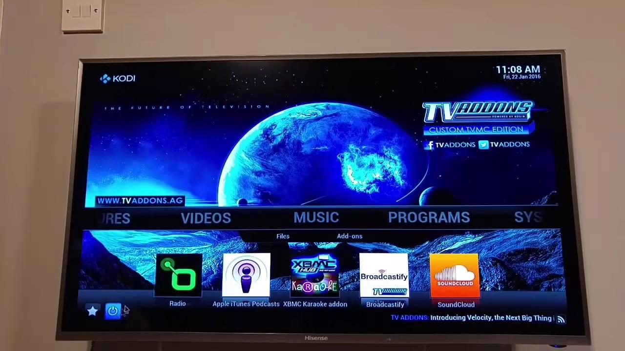 Hisense Android 4 4 4K Smart TV with Kodi