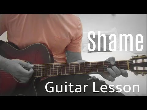 Elle King - Shame | Guitar Lesson (Tutorial) | Easy How To Play (Chords)