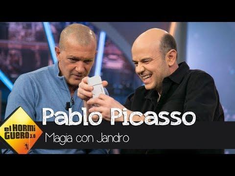Jandro hace magia con Antonio Banderas para crear un homenaje a Pablo Picasso - El Hormiguero 3.0