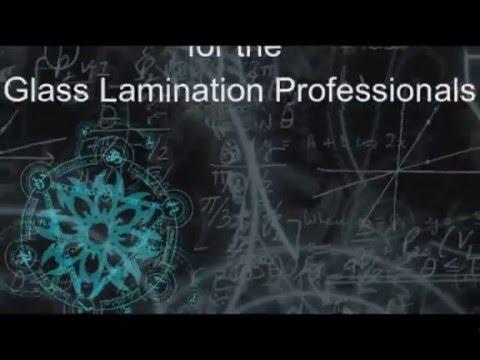 My new Glass Lamination Blog Announcement