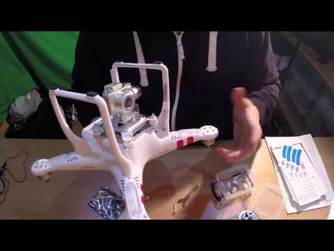 DJI Phantom 2 Vision+ v3.0 Drone Unboxing & Review