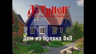 видео В чем популярность домов из сруба