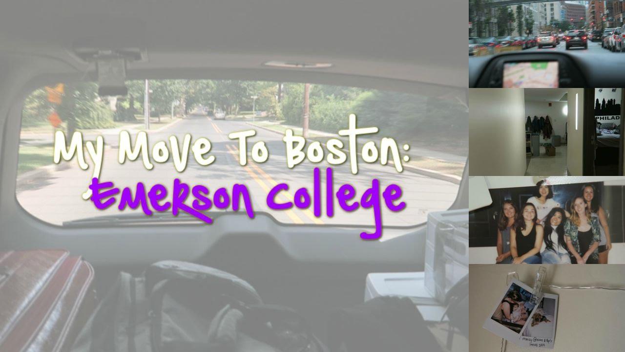 College Move In Vlog | Emerson College (Boston) Part 58