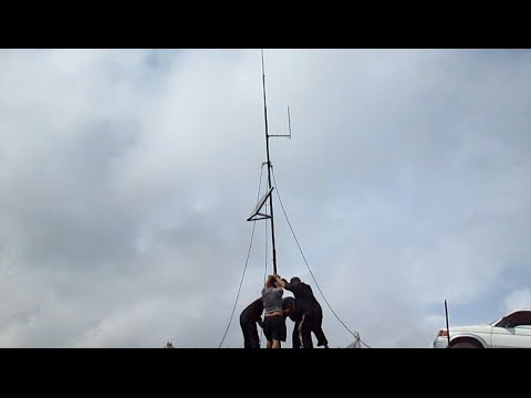 VHF-UHF  Repeater  installation in west Georgia,  altitude of2317 m.
