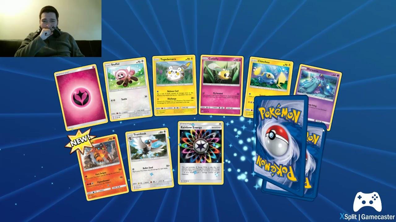how to open packs in pokemon tcg online