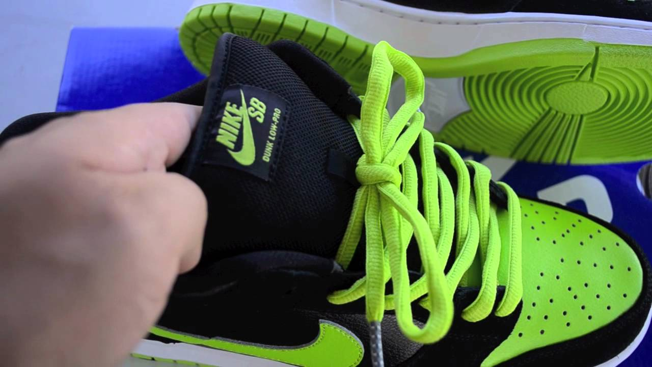cheap for discount 529d8 82f3f Nike Dunk Low Pro SB Neon J-Pack Review Craigslist Pick Up Collecion