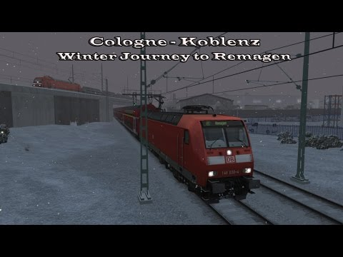 Train Simulator 2015 - Career Mode - Cologne-Koblenz - Winter Journey to Remagen Part 1 |