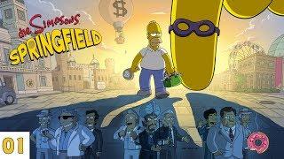 Die Simpsons - Springfield #01 Springfield Jobs Event (Deutsch) [Let's Play]