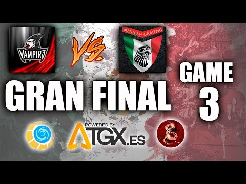TORNEO DE MEXICO EN TGX - VAMPIR3 VS MEXICAN GAMING - FINAL GAME 3 ✪ Mobile Legends: Bang Bang