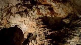 visite de la grotte de l'aven d'orgnac ( Ardèche )