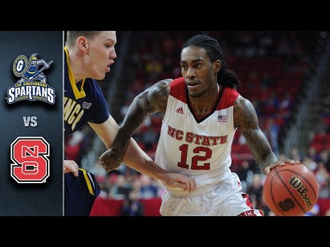 NC State vs. UNC Greensboro Basketball Highlights (2015-16)