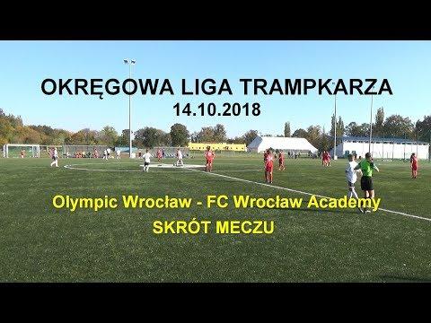 OLT 2018.10.14: Skrót Meczu Olympic Wrocław - FC Wrocław Academy (1:3)