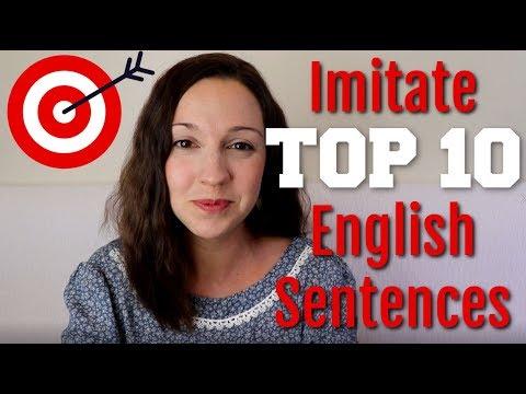 How to Pronounce TOP 10 English Sentences