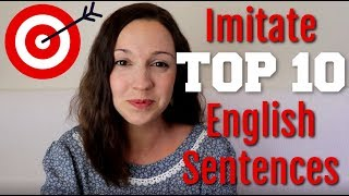How to Pronounce TOP 10 English Sentences