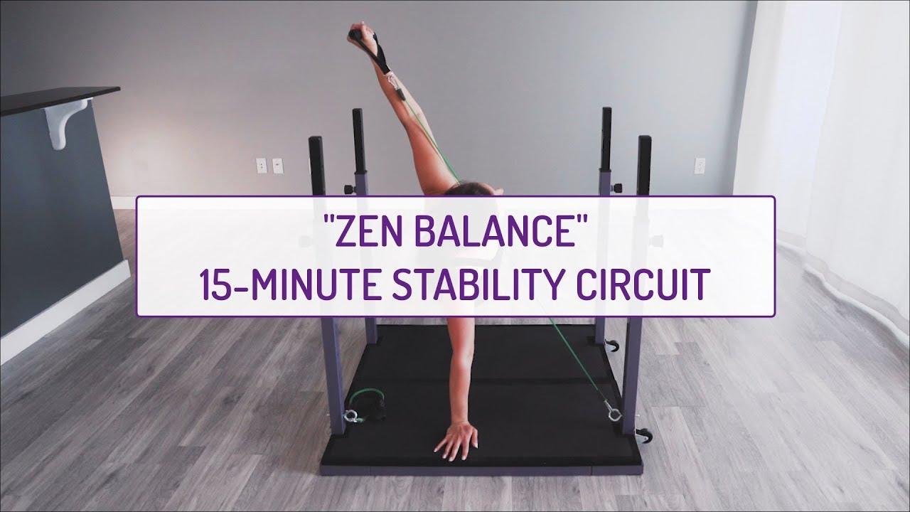 Zen Balance | 15-Minute Stability Circuit | Evolution Training System
