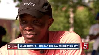James Shaw Jr. honors local fathers with cookout and car show