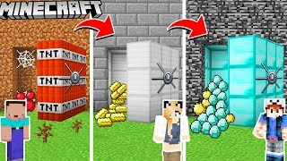 SEKRETNY SKARBIEC OD NOOB DO PRO W MINECRAFT! | Vito vs Bella vs Noob