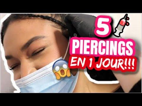 Download JE FAIS 5 PIERCING EN 1 JOURNÉE!! *ÉVANOUISSEMENT* 😱  💉