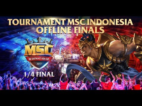 MOBILE LEGENDS SOUTHEAST ASIA - INDONESIA 1/4 Final