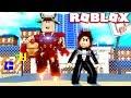 GIRL VS BOY: ROBLOX SUPERHERO SIMULATOR!