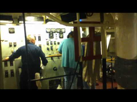 USS Slater B3 Genset tests