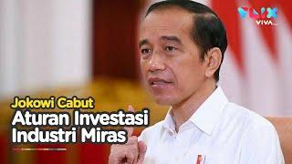 Akhirnya! Jokowi Cabut Aturan Investasi Industri Minuman Keras!