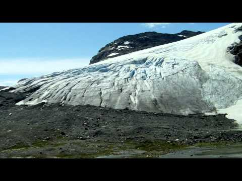 A trip to the Blåisen Glacier, Hordaland, Norway