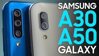 Обзор Samsung А30 и А50: инновации флагманов среднему классу