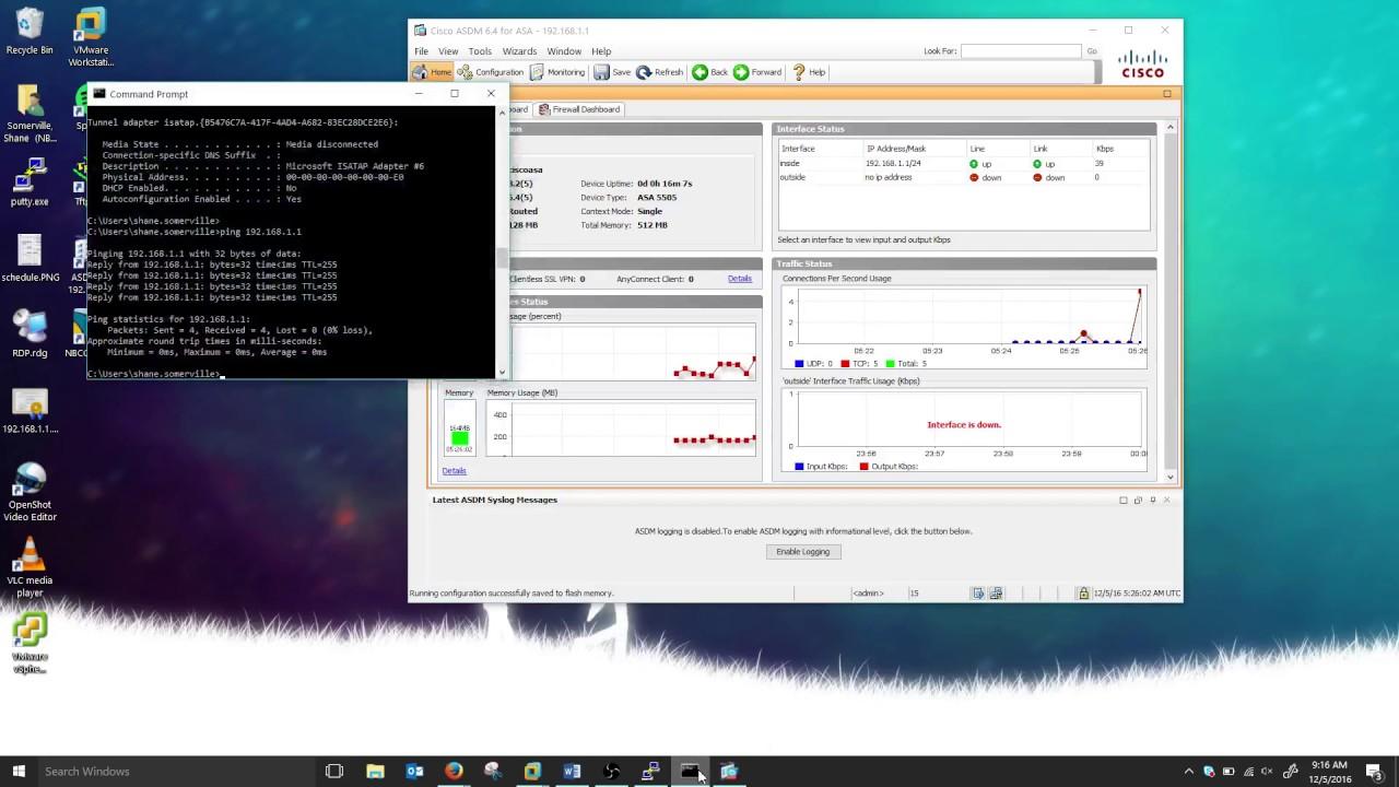 Upgrade IOS & ASDM on Cisco ASA 5505
