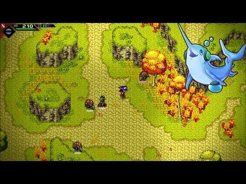 CrossCode Exploration Mode :: 2D Action Adventure RPG - IndieGoGo Quick Look