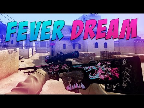 CS:GO - AWP | Fever Dream Gameplay