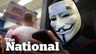 Anonymous follows through on a threat