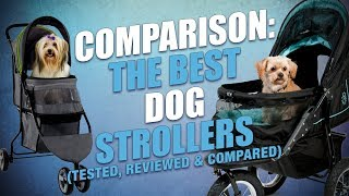 Top 10 Best Dog Strollers of 2018 (My Test and Review)
