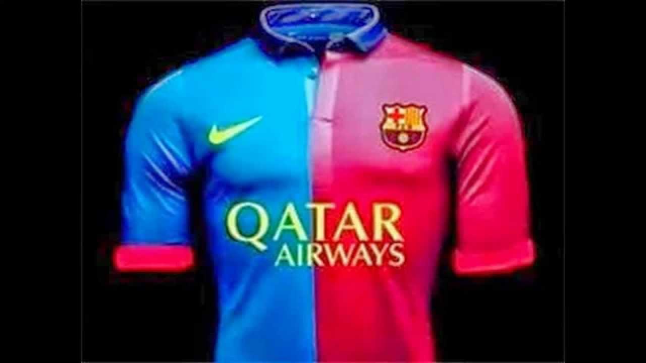 b1ae93201 FC Barcelona jersey 2014-2015 - YouTube