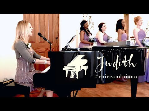 Judith - The Prayer (C. Dion & Andrea Bocelli Cover) #voiceandpiano live