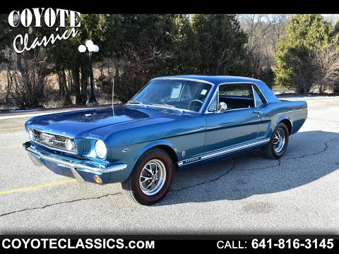 Show Quality!! 1966 Mustang For Sale At Coyote Classics