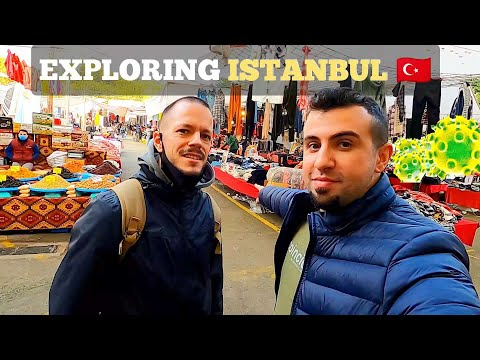 TOUR OF ISTANBUL During The PANDEMIC! Food, Culture, Exploring And More| December 2020