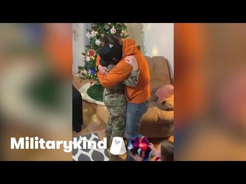 Husband breaks down when airman walks in | Militarykind