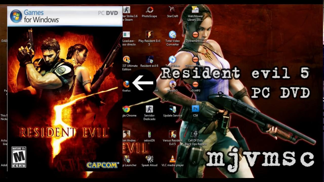Crack Resident Evil 5 Game For Windows Live Youtube