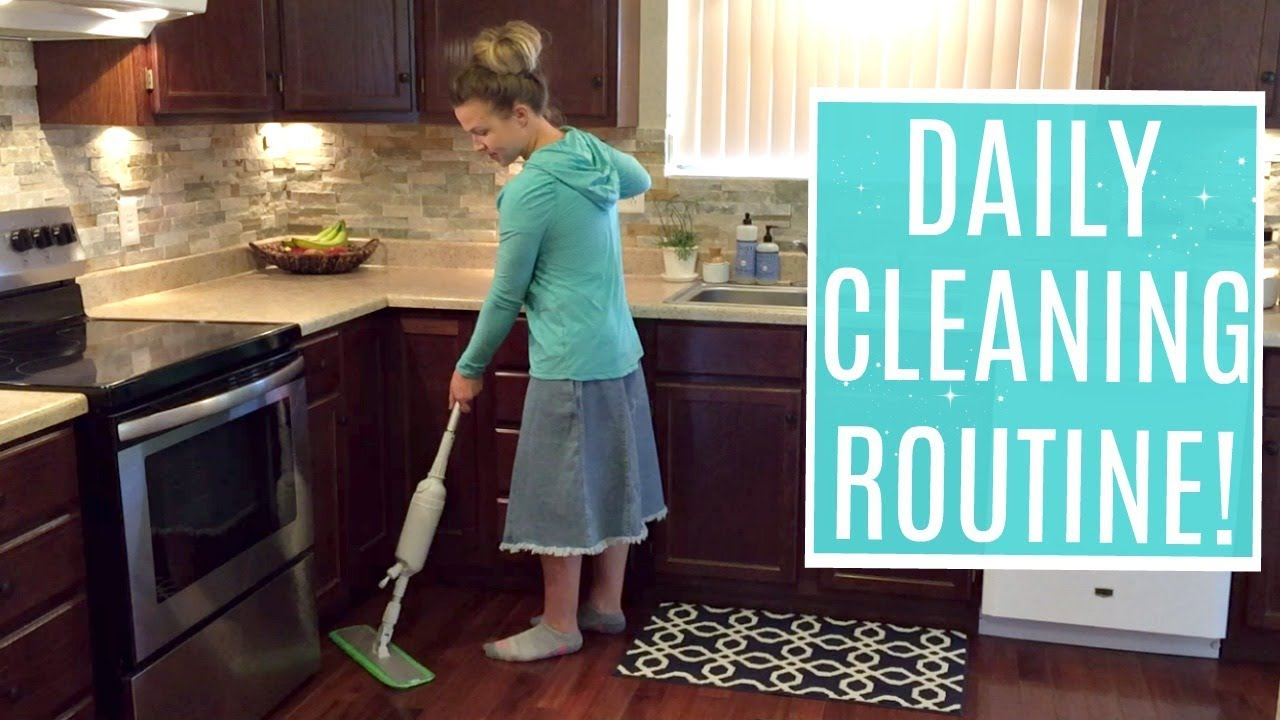 MY DAILY CLEANING ROUTINE 2018 | Clean With Me | Cleaning Motivation ...