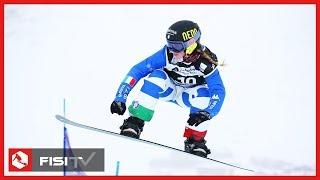 Michela Moioli terza nell'SBX a Val Thorens