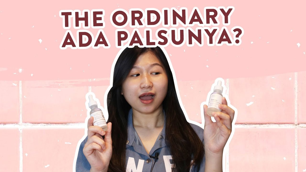 Perbedaan The Ordinary Aha 30 Bha 2 Peeling Solution Asli Vs Palsu Review Indo Youtube