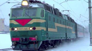 ЧС7-145 с поездом №58