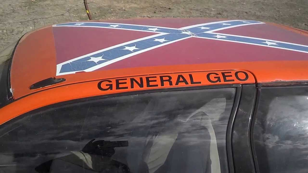 Cash For Clunkers >> Dukes of Hazard - General Lee, Geo Metro. Cash for clunkers in Utah! #801.214.0997 - YouTube