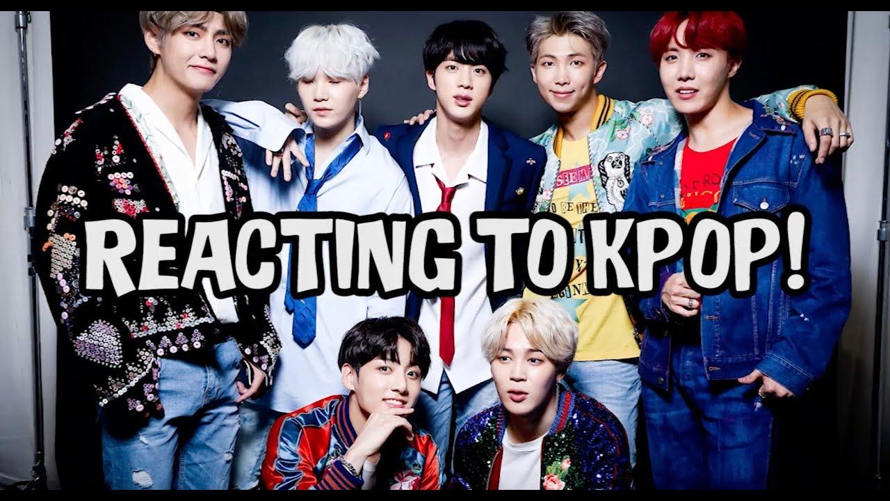 REACTING TO KPOP! (BTS, EXO)