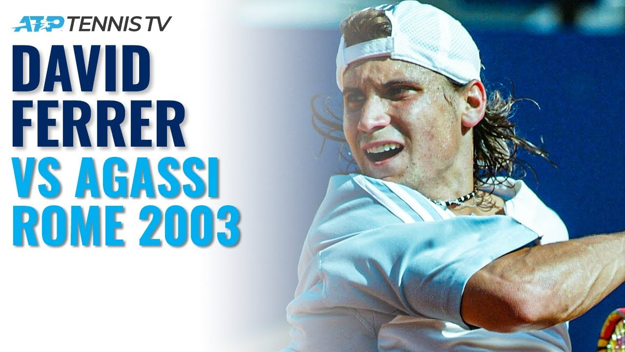 Andre Agassi vs David Ferrer: The Day Ferrer Shocked the Tennis World!