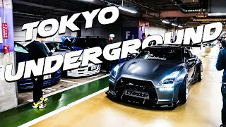 REAL LIFE UNDERGROUND JDM CAR MEET IN JAPAN | TOKYO DRIFT STYLE!