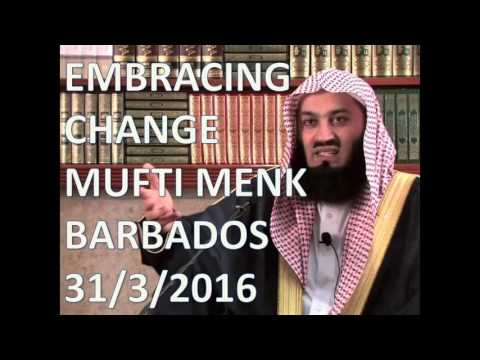 [NEW] MUFTI MENK - EMBRACING CHANGE - Barbados 31th March 2016